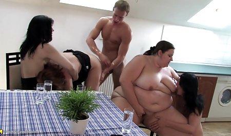 지 않은 검은색 및 흰색---프레슬리카터-코치의 포르노 첫 번째 사람은 성숙한 확장 break